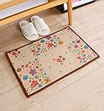 Anti Skid - Home Linen Absorbent Pillow Carpet, Mat, bathroom, kitchen, bedroom, carpet (Color K, Size: 5080cm)