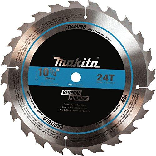 Makita A-94910 10-1/4-Inch Tungsten Carbide Tip Saw Blade, 24-Teeth