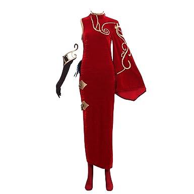 fb448a514 CosplayDiy Women's Dress for RWBY Cinder Fall Cosplay Costume Cheongsam  Dress XS