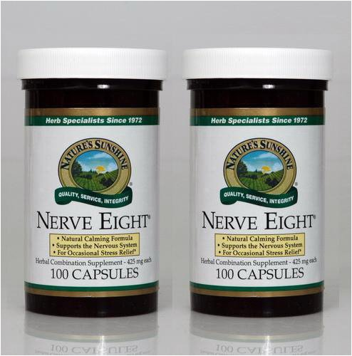Cheap Nature's Sunshine Nerve Eight 100 Capsules (Pack of 2)
