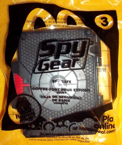 (McDonald's 2012 Spy Gear # 3 Spy Safe)