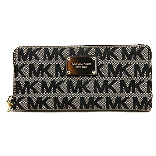 michael-kors-beige-black-gold-continental-wallet
