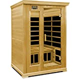 Crystal Sauna 2-Person Luxury Infrared Sauna For Sale