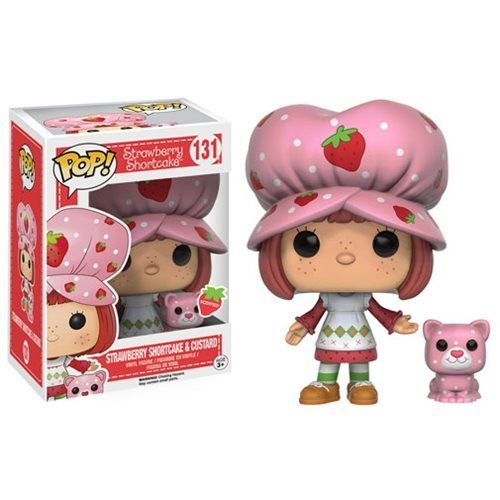 - Strawberry Shortcake and Custer Scented Pop! Vinyl Figures