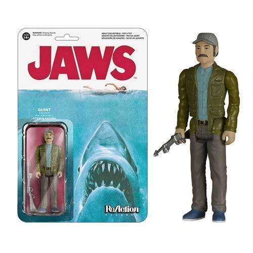 Funko Jaws Quint ReAction 3 3/4-Inch Retro Action Figure by Jaws
