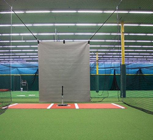 5 x 6 Heavy Duty Vinyl Baseball Batting Cage Backstop - GBCC