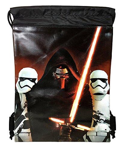 Disney Star Wars Authentic Drawstring Backpack Sling School Sport Gym Bag (Kylo Ren) Review