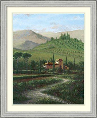 (Framed Wall Art Print   Home Wall Decor Art Prints   Villa at Stia by Joe Sambataro   Casual Decor)