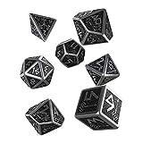 Q-Workshop Metal Dwarven 7 Polyhedral RPG