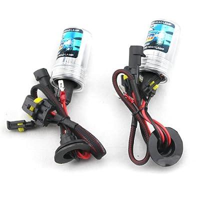 Car HID Xenon Single Beam Lights Bulbs Lamps H7 10000K brilliant blue(12V,35W) - 1 Pair