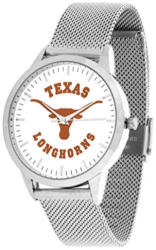 Texas Longhorns - Mesh Statement Watch - Silver Band