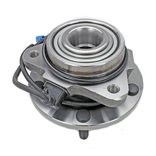 CRS NT513200 New Wheel Bearing Hub Assembly, Front Left (Driver)/Right (Passenger), for 1998-2005 Chevy Blazer, 1998-2004 GMC Jimmy, RWD (Chevy Blazer Wheel Bearings)