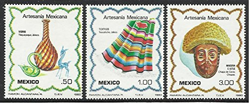 Mexico Stamps 1980 MNH 3v. Complete Set Mexican -