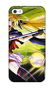 Iphone 5/5s Case Cover Skin : Premium High Quality Magical Girl Lyrical Nanoha Strikers Anime Other Case