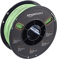 AmazonBasics PLA 3D Printer Filament, 1.75mm, Neon Green, 1 kg Spool by AmazonBasics