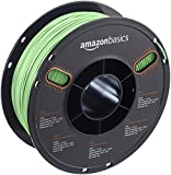 AmazonBasics PLA 3D Printer Filament, 1.75mm, Neon Green, 1 kg Spool