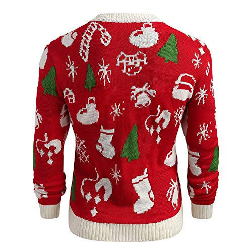 Pull Christmas À Plus Tee shirt Homme Sweat Rouge Capuche Sweater 69 Hommes Gongzhumm Sweatshirt Pullover Sweats Men Size Noel Noël qtZTz44p