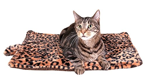 Thermal Cat Pet Dog Warming Bed Mat - BEIGE, 22