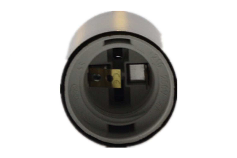 E26 E27 Light Socket, Edison Retro Pendant Lamp Holder,Solid Bronze Ceramics Lamp Socket without Switch, 200℃ Heat Resistant Vintage Industrial Edison Screw-in Socket,Pack Of 9