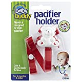 Best Baby Gear Baby Buddy Baby Car Seats - Baby Buddy Bear Pacifier Holder, Red Review
