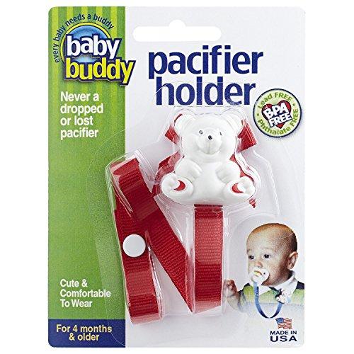Baby Buddy Bear Pacifier Holder,