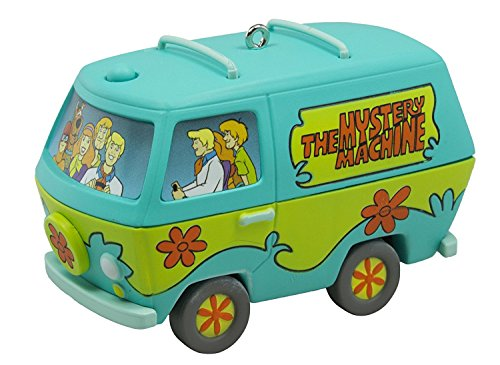 Hallmark 2016 Scooby-Doo The Mystery Machine Musical Christmas Ornament ()