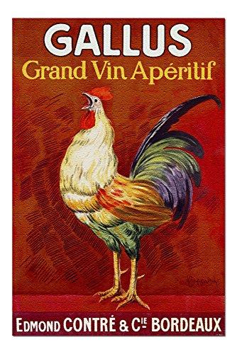 Gallus - Grand Vin Aperitif (Artist: Cappiello, Leonetto) France - Vintage Advertisement (20x30 Premium 1000 Piece Jigsaw Puzzle, Made in USA!)