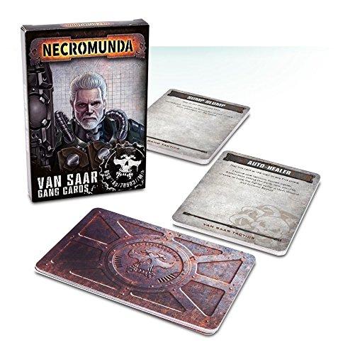 Warhammer Necromunda Van Saar Gang Cards SW by Games Workshop
