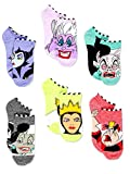 Book cover from Disney Villains Teen Womens 6 pack Socks (9-11 (Shoe: 4-10), Villains Purple/Multi) by Disney