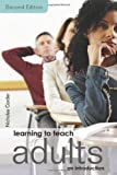 Learning to Teach Adults, Nicholas Corder and Corder, 0415423627