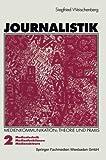 Journalistik, Siegfried Weischenberg, 3531123785