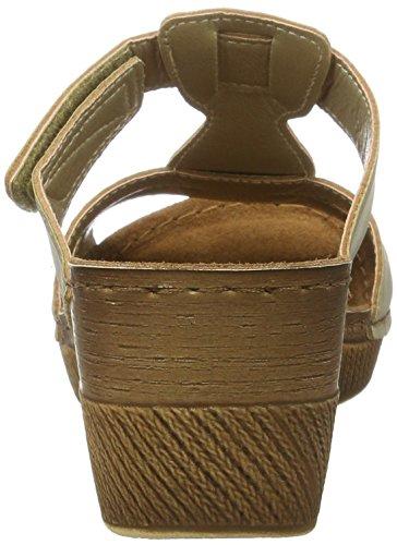 Vista 69-s132 - Mules Mujer Beige - Beige (platin)