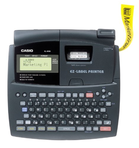 Casio KL-8100 Professional Style Label Printer by Casio
