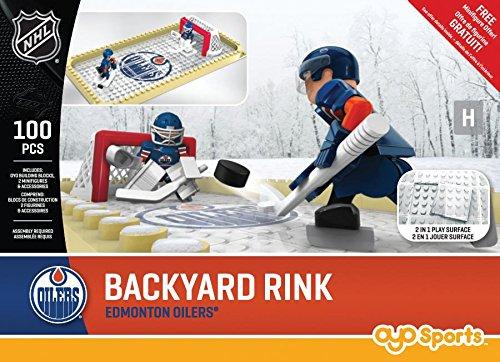 fan products of NHL Edmonton Oilers Backyard Rink Set, Small, Black