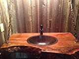 SimplyCopper-16-Oval-Hand-Hammered-Copper-Bath-Sink-Undermount-or-Drop-In