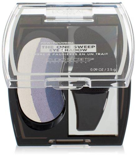 L'Oreal Paris Studio Secrets Professional The One Sweep Eye Shadow, Blue Eyes, 0.09 Ounces ()