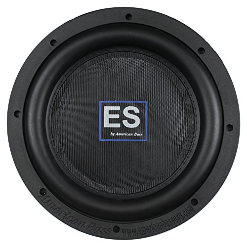 "American Bass ES1044 10"" Shallow 1000 Watts 2.5"" Voice Coil"