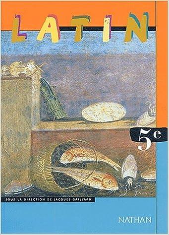 Livres gratuits en ligne Latin, 5ème pdf ebook