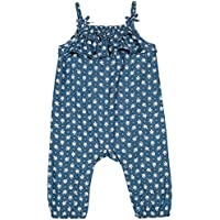 Macacão Mediterrâneo Bebê, TipTop, Azul Escuro, P