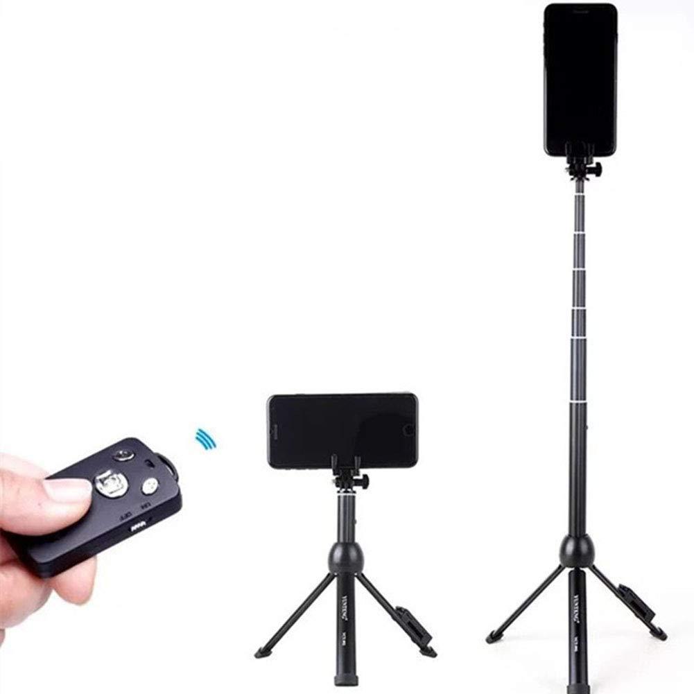 Aisence 自撮り棒 三脚 45インチ 延長可能 自撮り棒 三脚 携帯電話 GoPro用   B07Q8GM5CG
