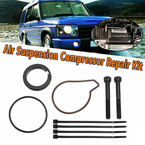 Value.Trade.Inc - Air Suspension Compressor Repair Kit For Land Rover Range Rover Discovery II 2 98-04 MK3 L322 02-05 Piston Ring Gasket O-Ring
