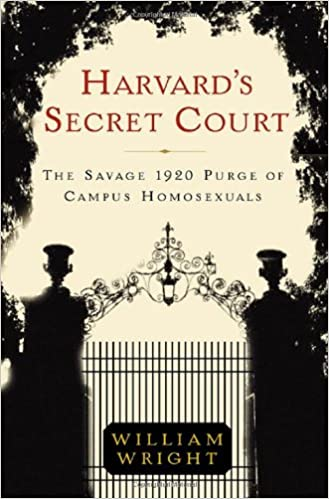 Harvard 1920 homosexual advance