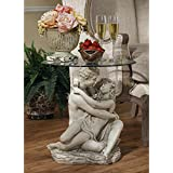 Design Toscano In the Arms of Romance End Table