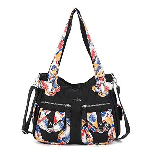 Angelkiss Women Top Handle Satchel Handbags Purse Shoulder Bag