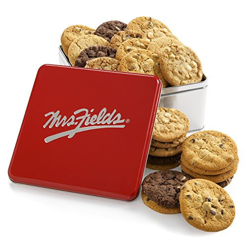 Mrs. Fields Classic Cookie Tin, (Pack of 24)