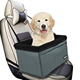 Jespet Dog Booster Seats for Cars, Portable Travel Pet Car Seat Carrier with Seat Belt for 24lbs Pets For Sale