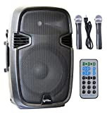 Ignite 15'' Pro Series Speaker DJ / PA System Rechargeable Battery / Bluetooth Connectivity 2000W Peak Power