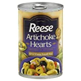 Reese Artichoke Hearts - Extra Small Size - 14 oz
