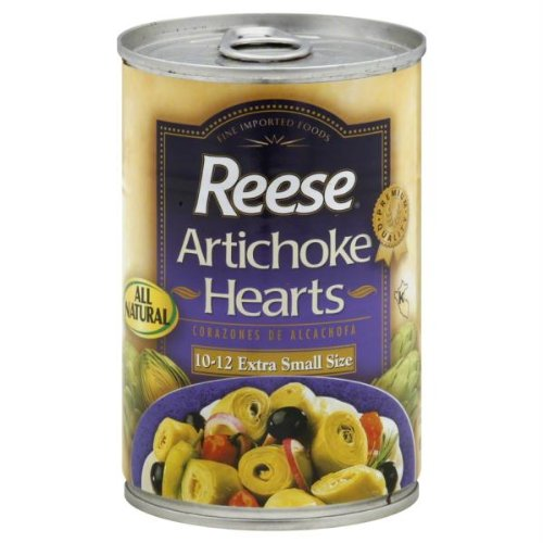 Reese Artichoke Hearts - Extra Small Size - 14 oz