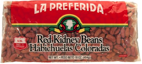 La Preferida Red Kidney Beans, 16-Ounce (Pack of 24) by La Preferida